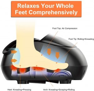 how foot and leg massagers work